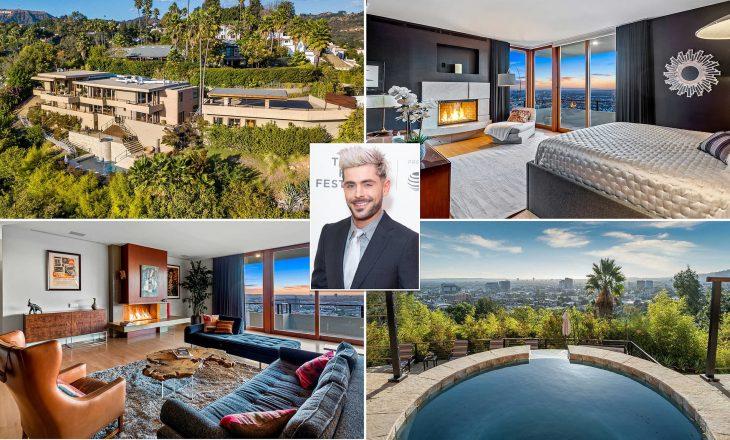 Gjeti dashurinë dhe tani po shet shtëpinë – brenda vilës miliona dollarëshe të Zac Efron