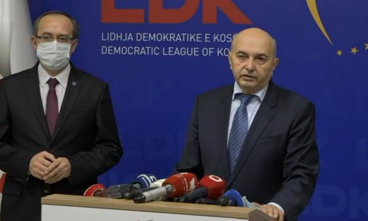 Zyrtare: Hoti kandidat i LDK-së për kryeministër, LDK nuk bën koalicion me asnjë parti