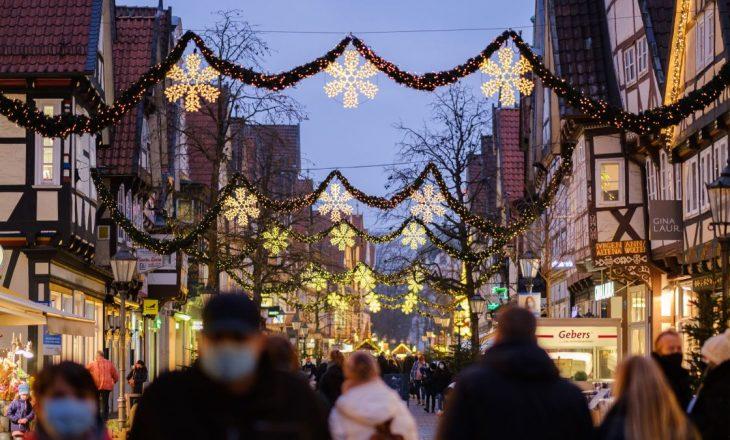 Gjermania do të hyjë bllokim kombëtar gjatë Krishtlindjes