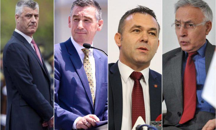 Thaçi, Veseli, Selimi, Krasniqi, dalin sot para Speciales