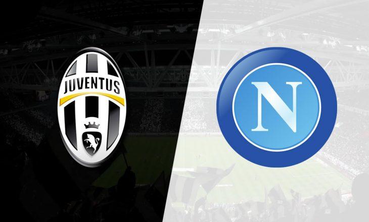 Ndeshja Juventues & Napoli do të zhvillohet