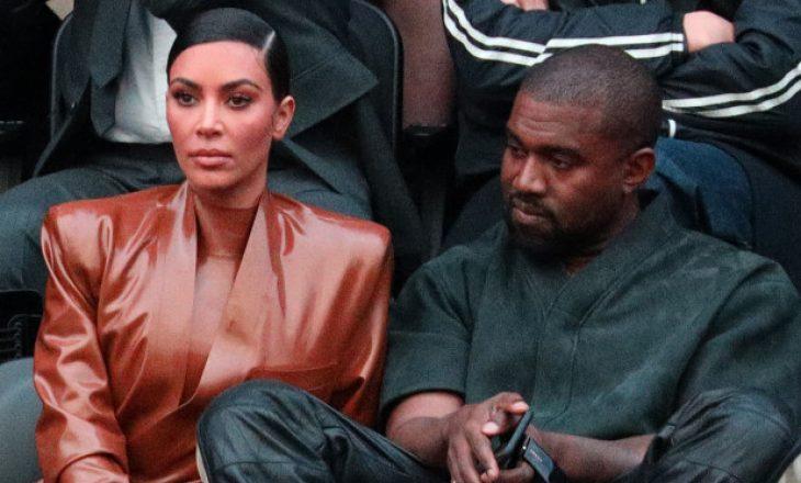 Kim dhe Kanye jetojnë të ndarë edhepse nuk janë divorcuar