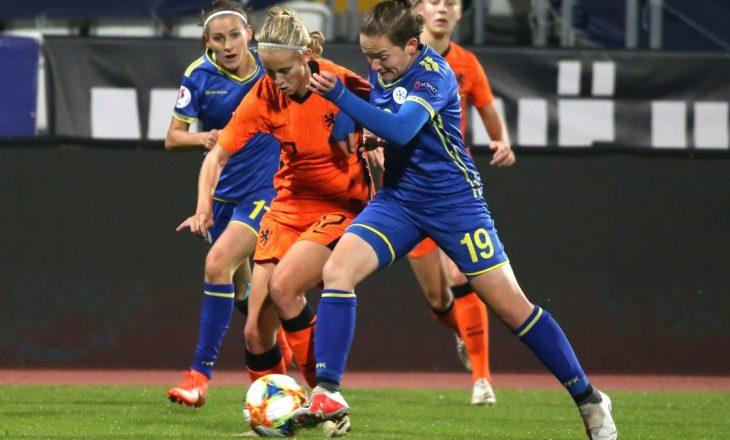 Përfaqësuesja e Kosovës në konkurrencën e femrave humb nga vashat e Holandës