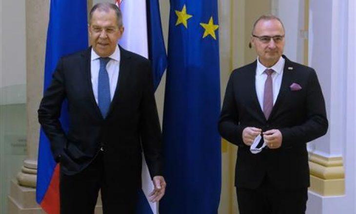 Lavrov vizitë në Kroaci: Kam biseduar edhe për Kosovën