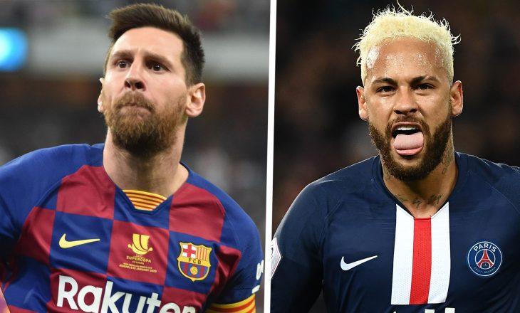 Neymar dëshiron bashkimin me Messi-n