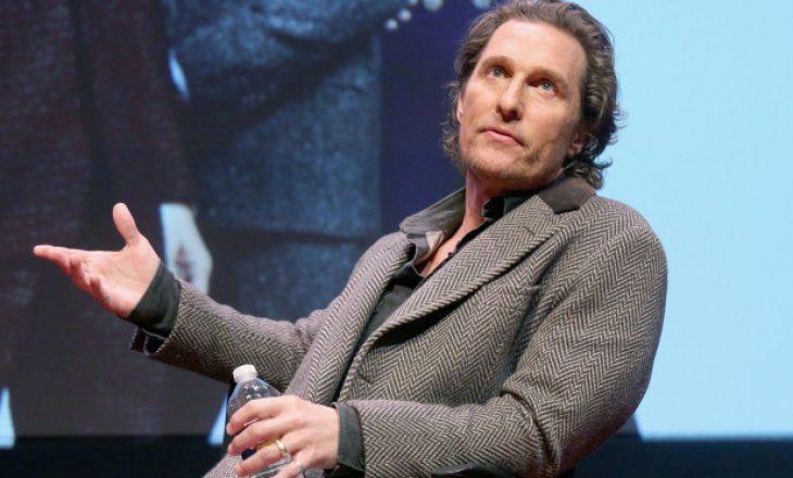 Matthew McConaughey kritikon dyfytyrësinë politike të yjeve të Hollywood