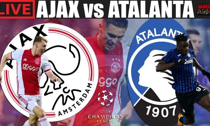 'Të jesh apo të mos jesh', Ajax vs Atalanta – formacionet zyrtare