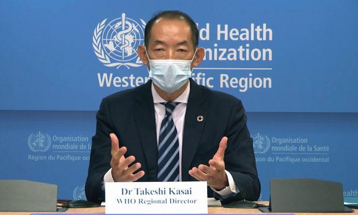 Takeshi Kasai nga OBSH: Vaksina nuk do t'i japë fund menjëherë pandemisë