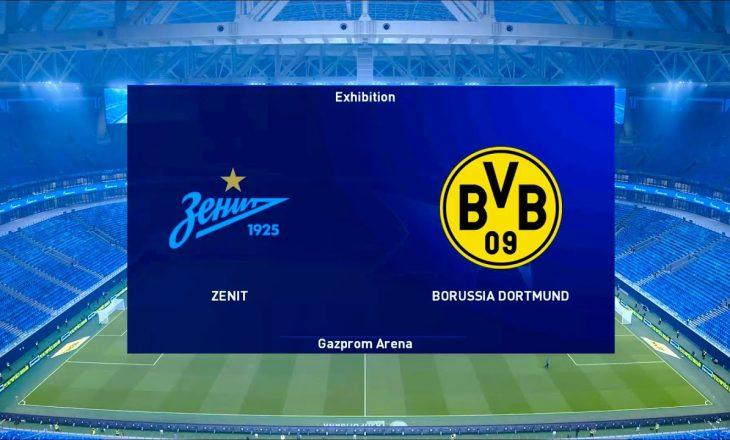 Zenit St. Petersburg vs Borussia Dortmund, formacionet zyrtare