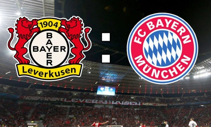 Derbi gjerman për kreun, Bayer Leverkusen vs Bayern Munchen – formacionet