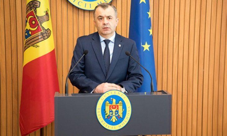 Kryeministri pro-rus i Moldavisë jep dorëheqjen pas protestave