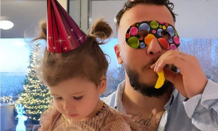 Loredana dhe Mozzik publikojnë pamje nga festa e dyvjetorit të Hanës