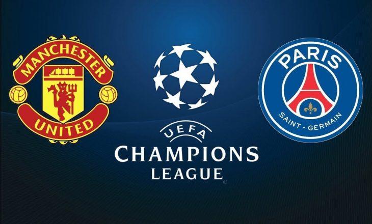 Manchester United vs PSG, formacionet e super sfidës në Ligën e Kampionëve
