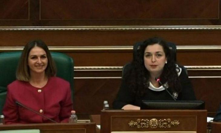 Nagavci jep sinjale që Vjosa Osmani do të jetë në listë të VV-së
