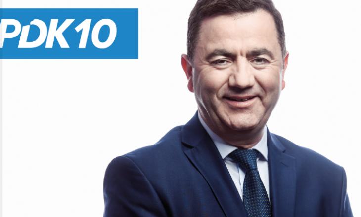 Naim Fetahu jep dorëheqje nga pozita e kryetarit të PDK-së në Podujevë