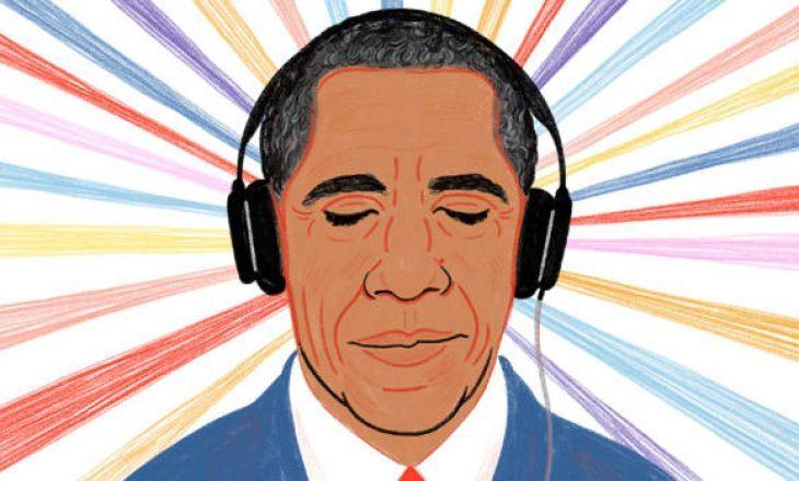 Barack Obama kaloi 2020-tën duke dëgjuar këngët e Dua Lipës