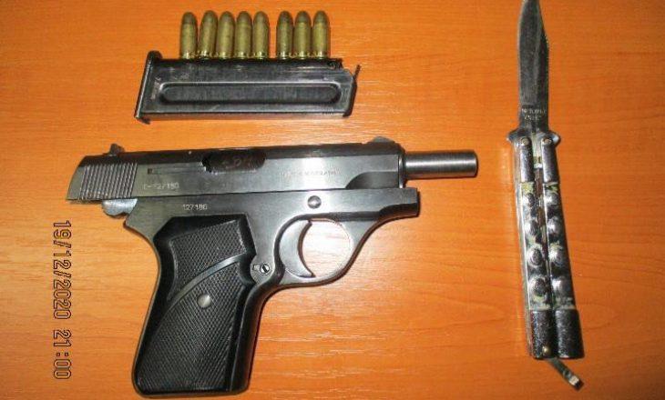 Policia arreston një person në Prishtinë, i gjetën armë