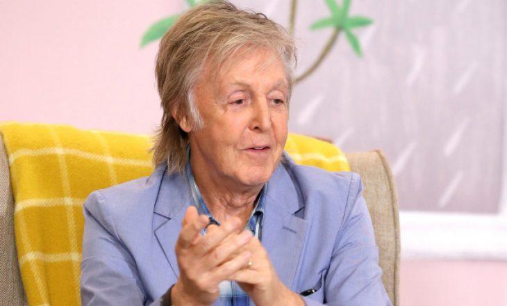 Paul McCartney i pëlqen të vendos maskë sepse askush nuk e njeh