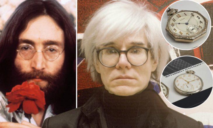 Orët e xhepit të John Lennon dhe Andy Warhol dalin në ankand në vlerë prej 40 mijë dollarësh