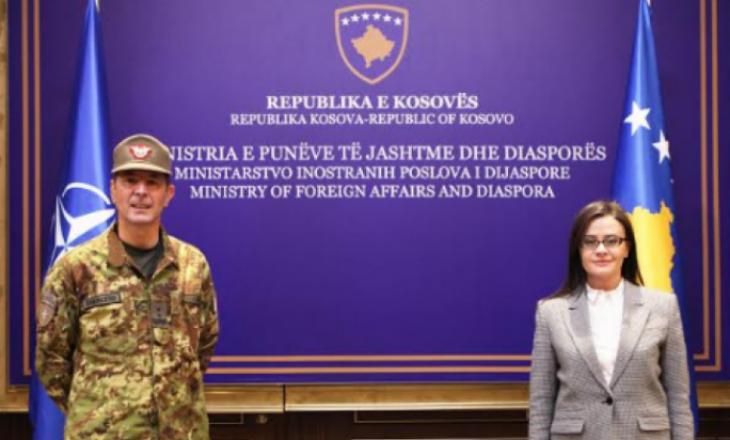 Haradinaj-Stublla takohet me komandantin e ri të KFOR-it