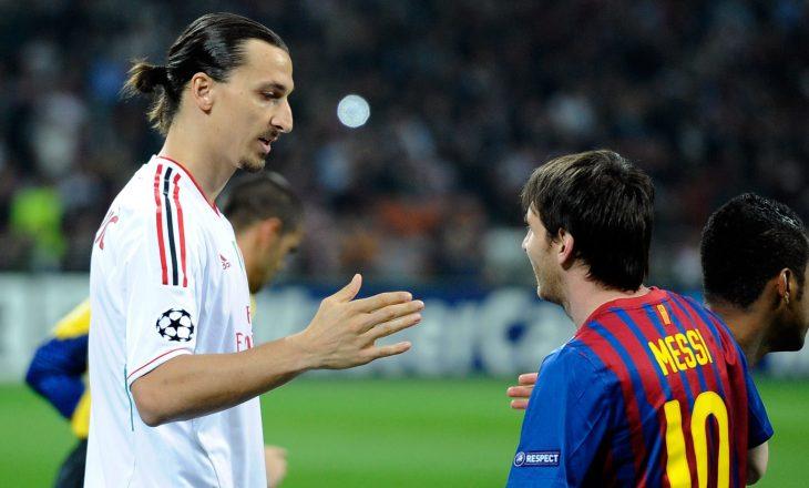 Ibrahimoviç: Unë do të merrja tri penallti, një do ja lija Messi-t