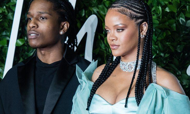 Nga miq të mirë në të dashur – Fotografitë më të bukura të Rihanna-s me A$ap Rocky