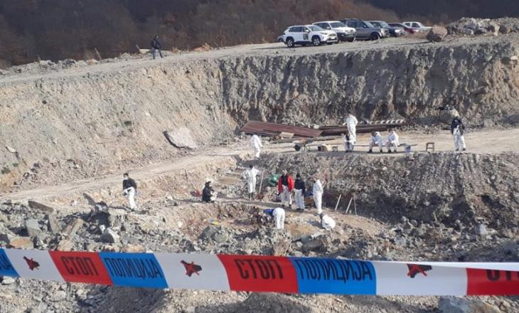Deri tani janë nxjerr mbetjet mortore të tre personave në Kizhevak të Serbisë