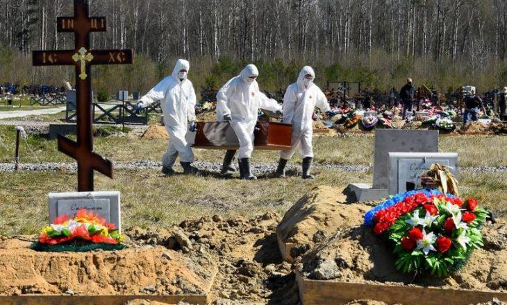 Rusia pranon që numri i të vdekurve nga COVID-19 është tre herë më i lartë nga sa është raportuar