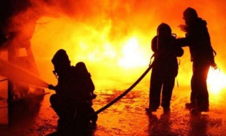 Përfshihet nga zjarri një fabrikë në Siqevë të Prishtinës