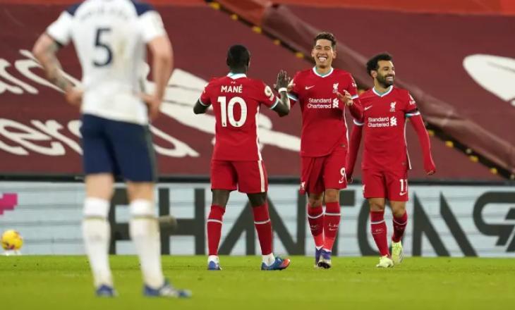 Liverpool shkatërron Crystal Palace