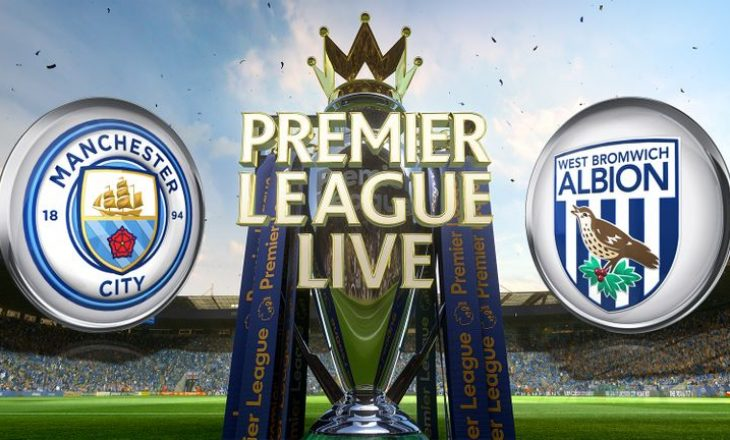 Manchester City vs West Bromwich Albion – formacionet