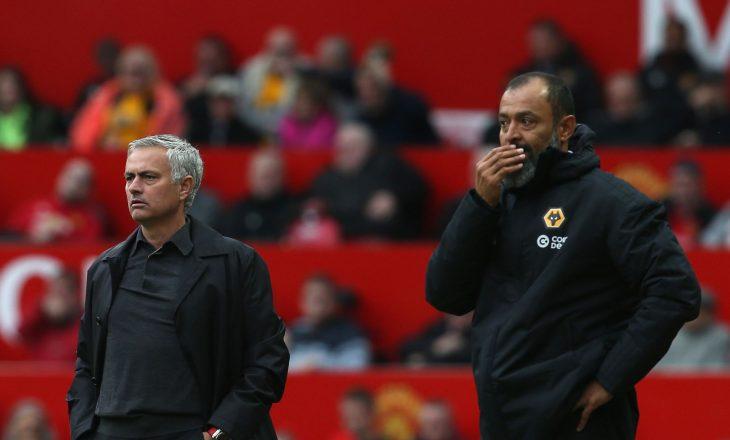 Mourinho mbron homologun e tij, trajnerin e Wolves-it