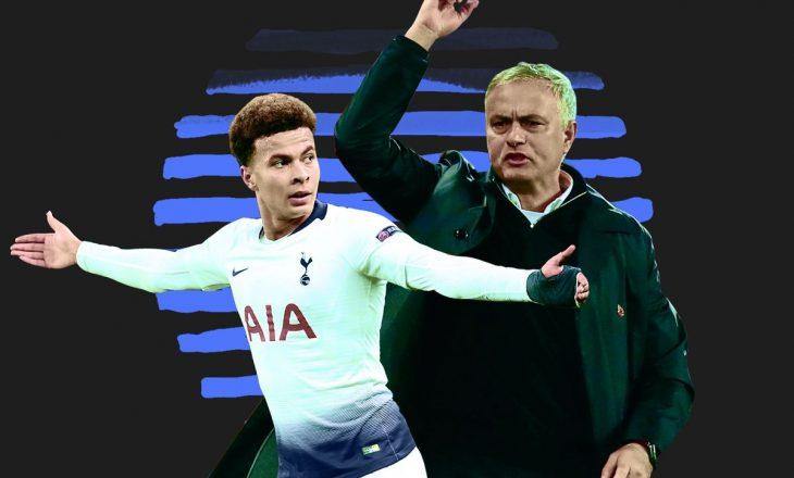 Mourinho përsëri zhgënjehet nga Dele Alli