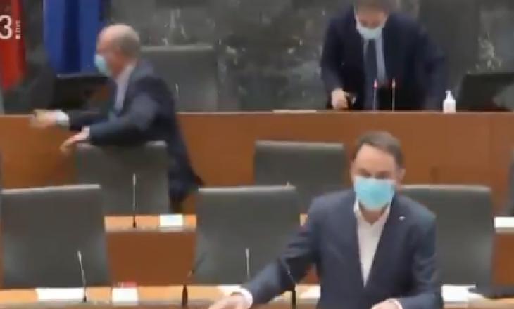 Tërmeti i Kroacisë dridh edhe parlamentin e Sllovenisë