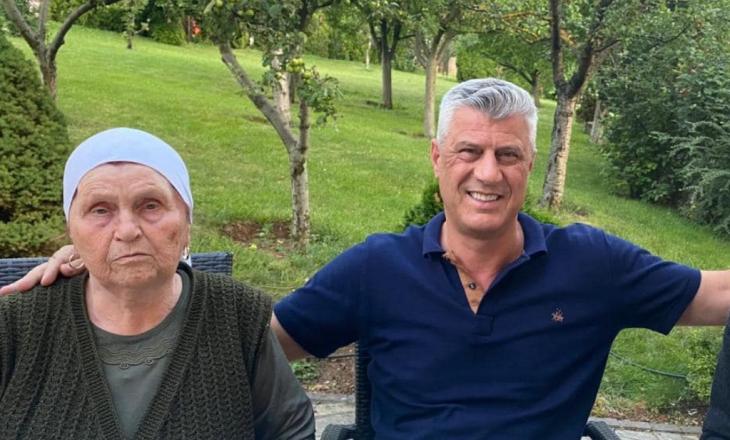 Familja e Thaçit flasin për gjendjen shëndetësore të nënës së ish-Presidentit