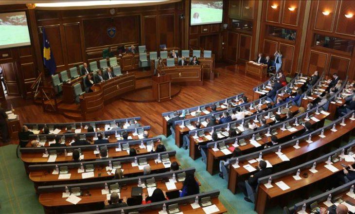 Kuvendi të premten mbanë dy seanca