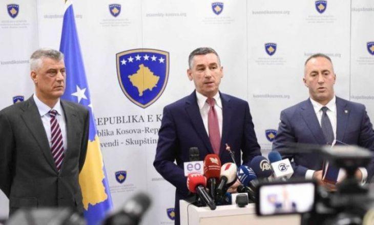 """Haradinaj: Nuk i kam borxh PDK-së, më ka sharë një Kosovë që jam bërë me hajnat e """"Prontos"""""""