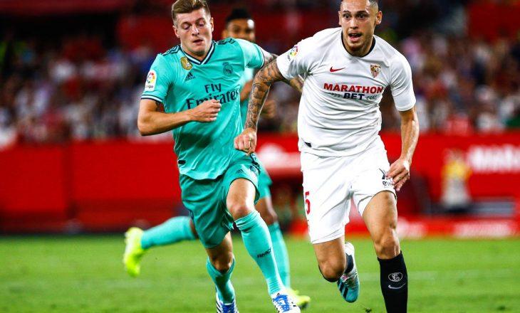 Real Madrid fiton derbin ndaj Sevilla-s