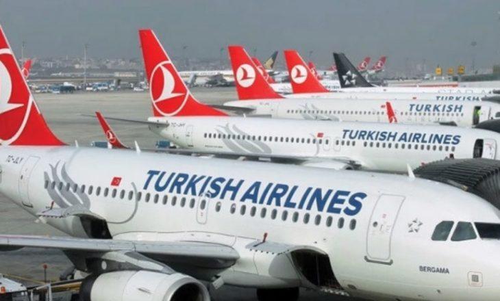Turkish Airlines nga 30 dhjetori do të kërkojë test negativ për COVID-19