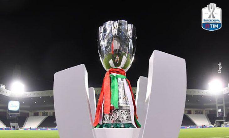 Finalja e Superkupës së Italisë mes Napolit dhe Juventusit pritet të luhet në shkurt