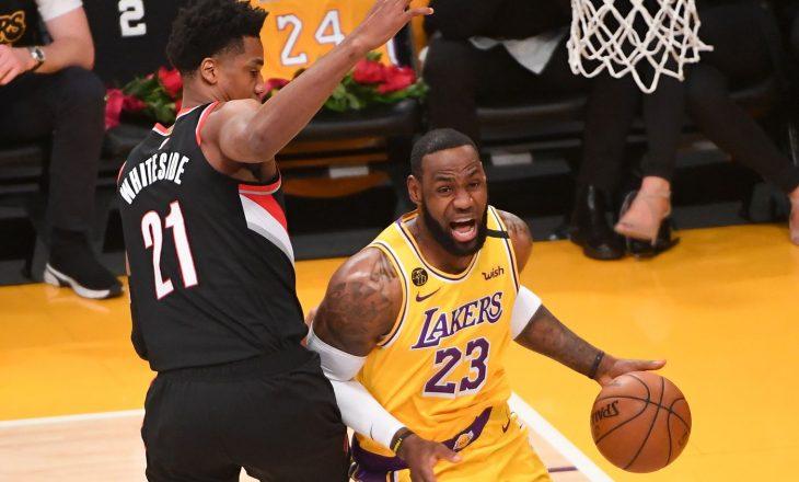 NBA: Portland Trail Blazers ka mposhtur kampionët e LA Lakers