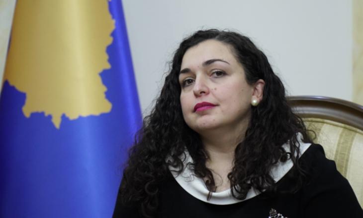 Vjosa Osmani goes to Brussels on January 12