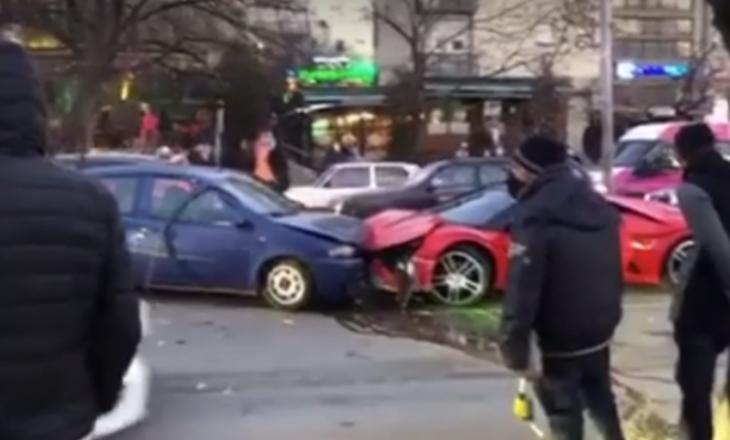 Prishtinë: Lëndohen 3 persona, aksidentohen 5 vetura