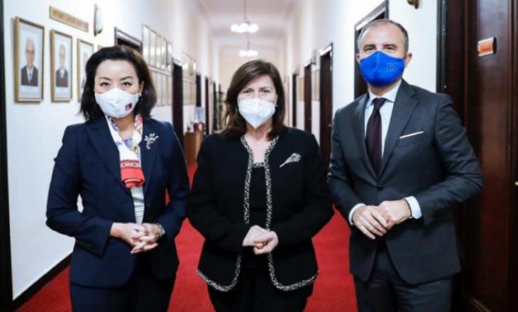 Ambasadorja amerikane në Shqipëri përshëndet vendimin e Metës për emrimin e anëtarit të gjashtë të Gjykatës Kushtetuese