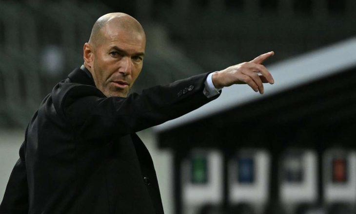 Zidani do largohet nga Real Madrid