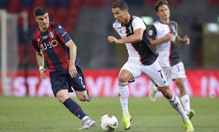 Juventus vs Bologna – formacionet