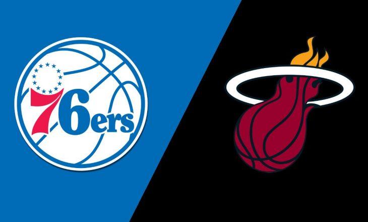 Philadelphia mposht Miami-n, rezultatet në NBA