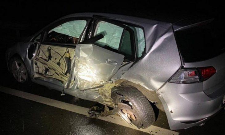 Aksident në autostradën Prizren-Suharekë, katër të lënduar