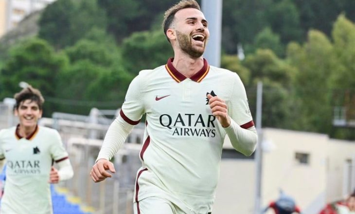 Mayoral i lumtur me dygolëshin e parë në Serie A