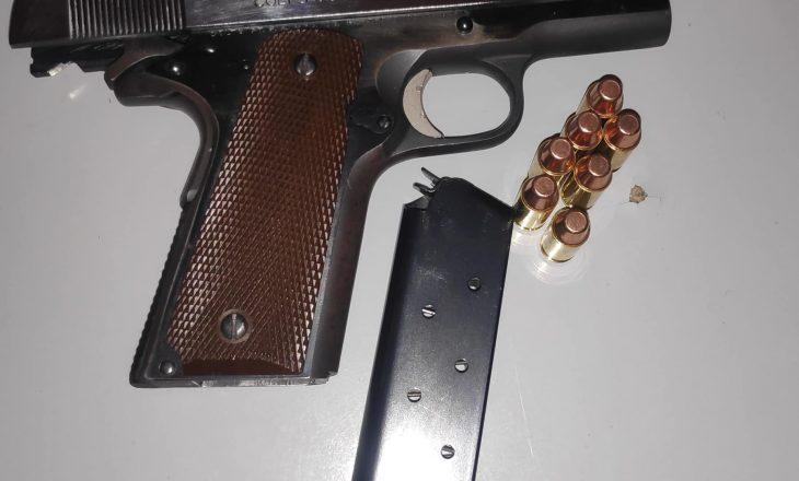 Sekuestrohet një armë zjarri me municion në Prishtinë
